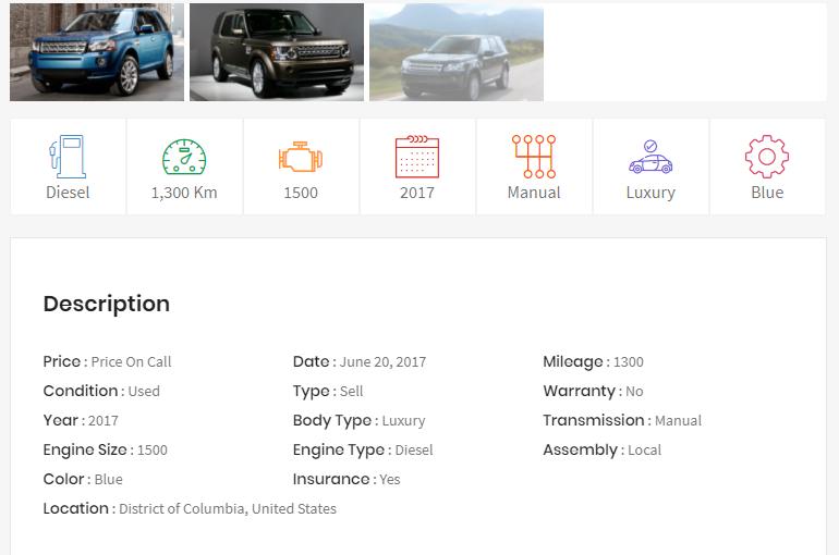 Auto Dealer Theme